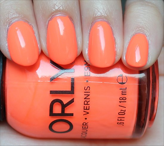 Orly Mayhem Mentality Swatch & Review