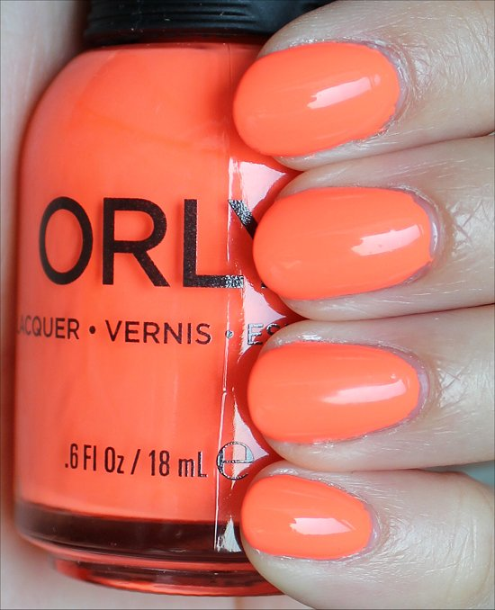 Orly Mayhem Mentality Swatches & Review