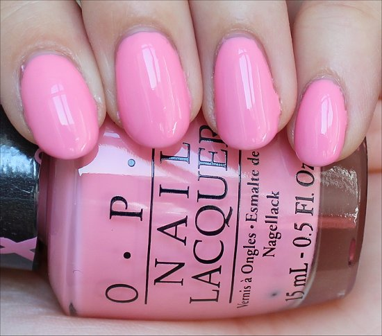 Pink-ing of You OPI Swatches