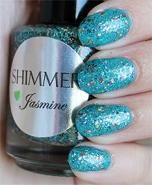 Shimmer Jasmine Swatches & Review