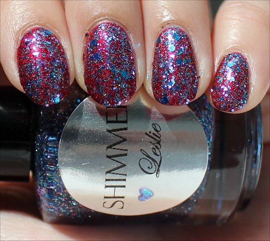Shimmer Leslie Swatch & Review