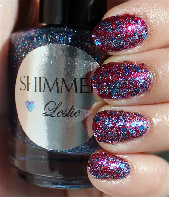 Shimmer Leslie Swatches & Review