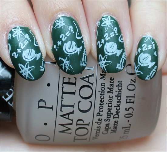 Back to School Nails Nail Art