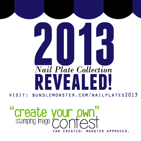 Bundle Monster 2013 Nail Plate Collection Create Your Own Stamping Image Contest