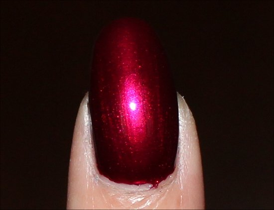China Glaze Autumn Nights Red-y & Willing Swatches