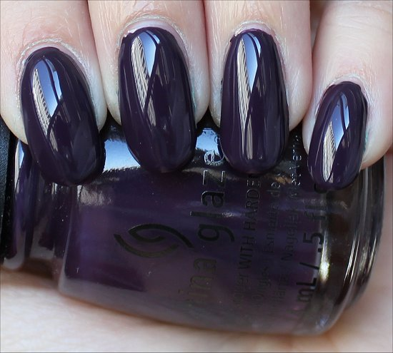 China Glaze Autumn Nights Swatches Charmed I'm Sure Swatch