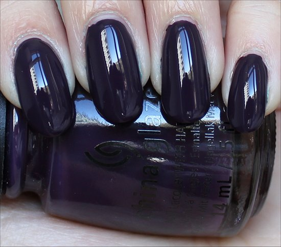 China Glaze Charmed I'm Sure Review & Swatch