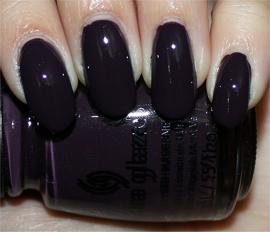 China Glaze Charmed I'm Sure Review, Swatches & Pictures