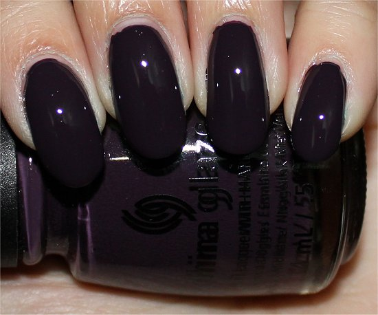 China Glaze Charmed I'm Sure Swatch, Review & Pictures