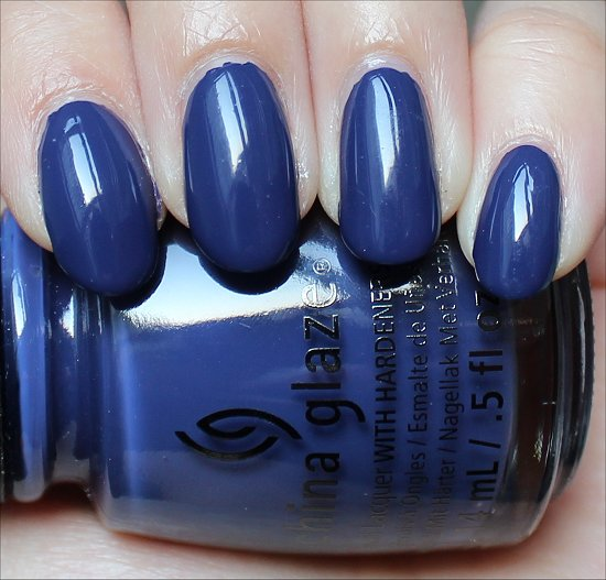 China Glaze Queen B Autumn Nights Swatches