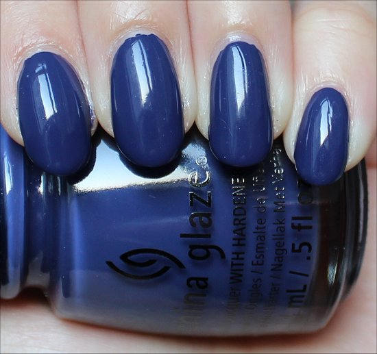 China Glaze Queen B Swatch Autumn Nights Swatches