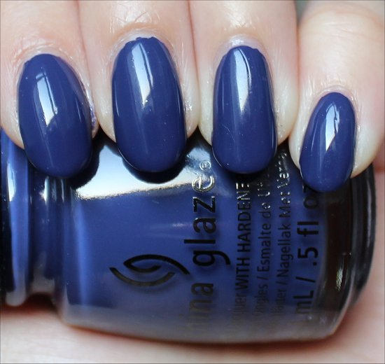 China Glaze Queen B Swatch & Review