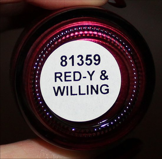 China Glaze Red-y & Willing Autum Nights Collection