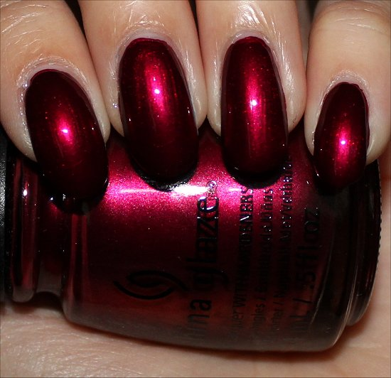 China Glaze Red-y & Willing Swatches Autumn Nights Swatch