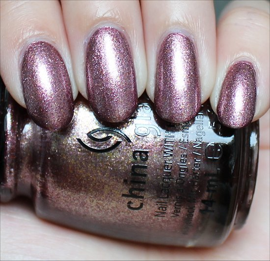 China Glaze Strike Up a Cosmo Review & Swatches