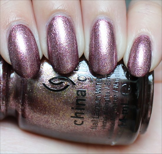 China Glaze Strike Up a Cosmo Swatch & Pictures