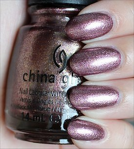 China Glaze Strike Up a Cosmo Swatches & Review