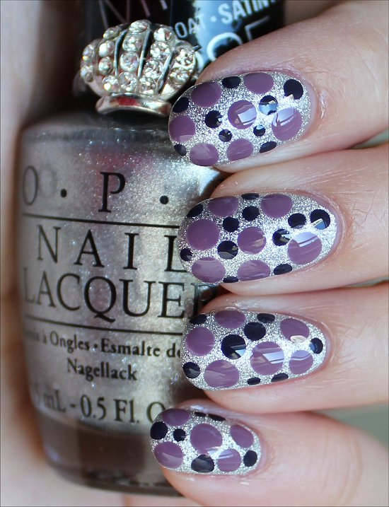 Dotticure OPI Miss Universe 2013 Collection Nails Nail Art