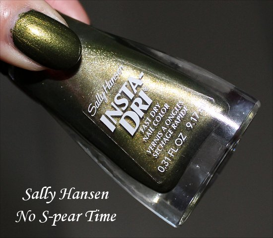 Insta-Dri Sally Hansen No S-pear Time Swatch Review