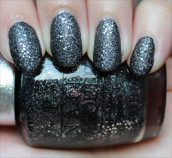 OPI DS Pewter Swatch & Review