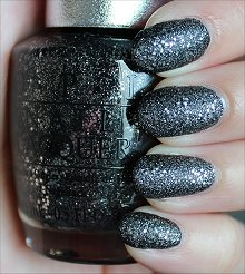 OPI DS Pewter Swatches & Review