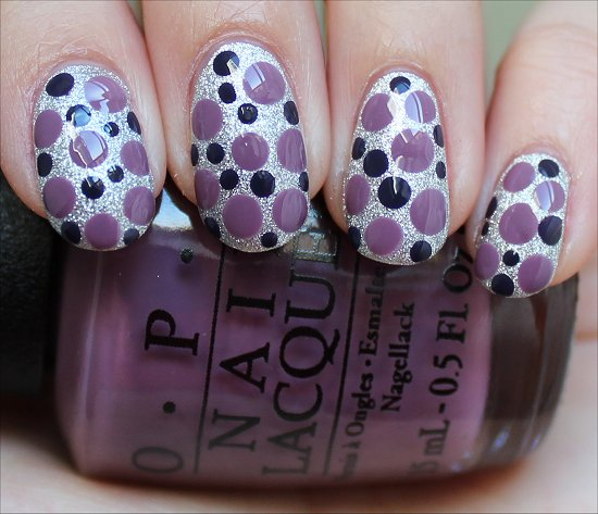 OPI Miss Universe Nails Nail Art