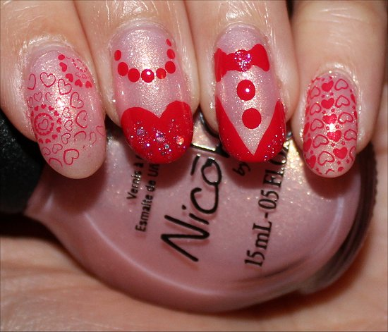 Prom Canada Nicole by OPI Swatch And Learn Prom Nails