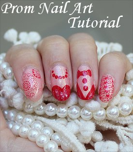 Prom Nails Nail Art Tutorial