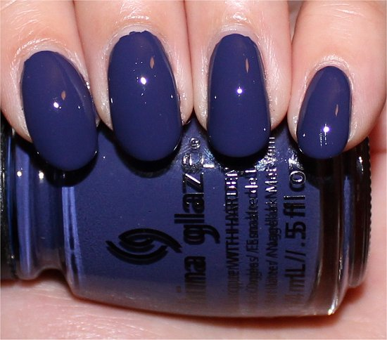 Queen B China Glaze Autumn Nights Swatches