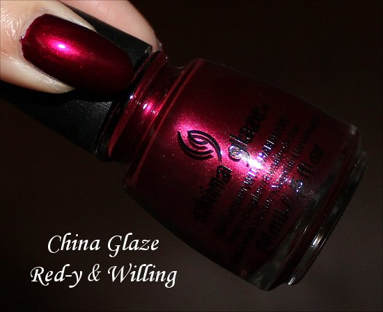 Red-y & Willing China Glaze Autum Nights