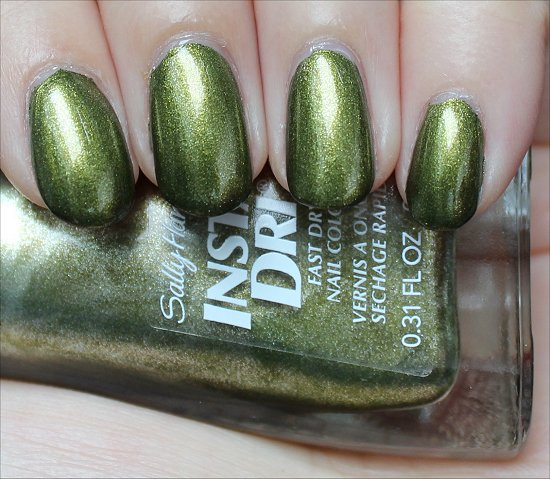 Sally Hansen Insta-Dri No S-pear Time Review & Swatch