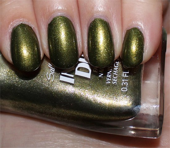 Sally Hansen Insta-Dri No S-pear Time Swatch, Review & Pictures