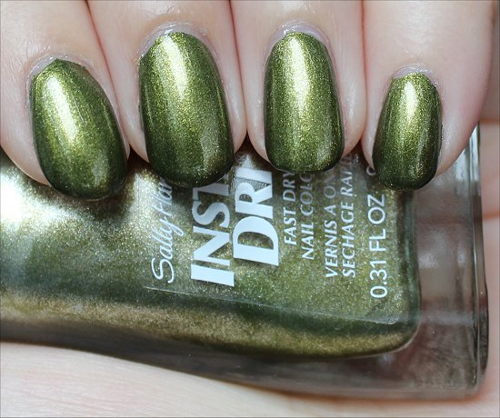 Sally Hansen Insta-Dri No S-pear Time Swatch