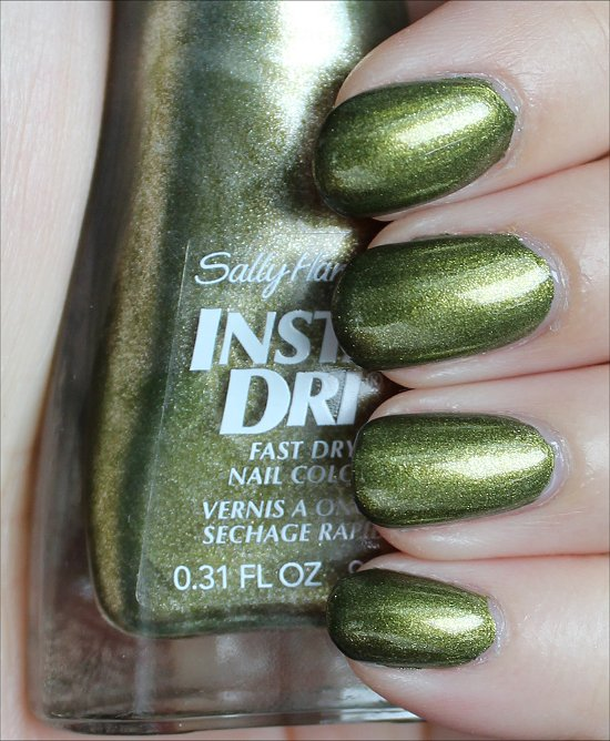 Sally Hansen Insta-Dri No S-pear Time Swatches & Review
