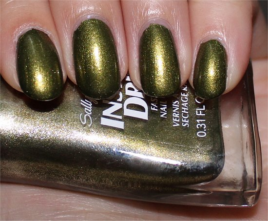 Sally Hansen No S-pear Time Swatch Insta-Dri Swatches