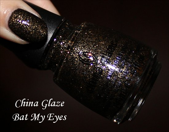 Bat My Eyes China Glaze Monsters Ball Collection Pictures