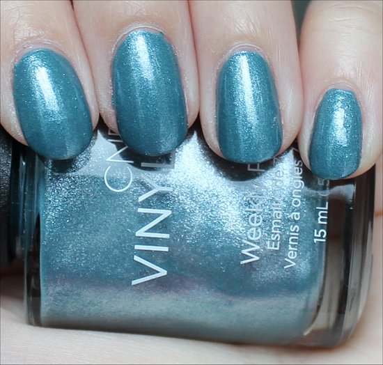 CND Vinylux Daring Escape Swatch Day 2