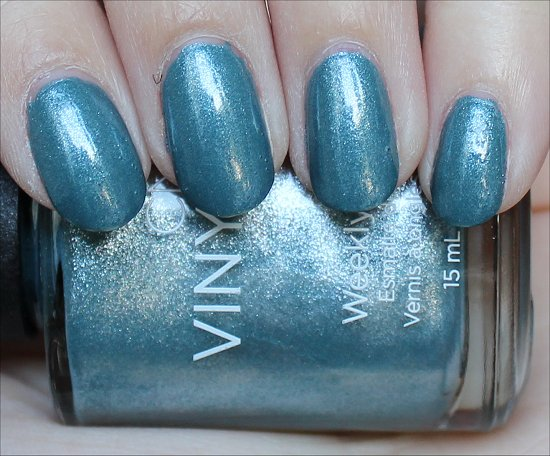 CND Vinylux Daring Escape Swatch Day 3