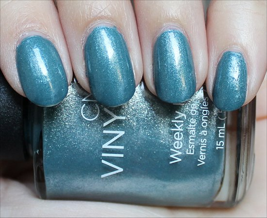 CND Vinylux Daring Escape Swatch Day 4