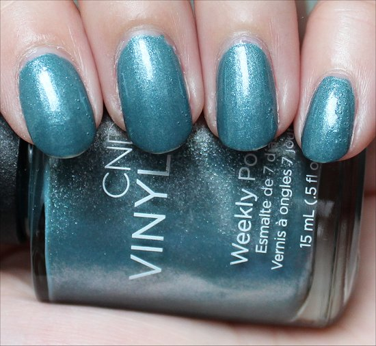 CND Vinylux Daring Escape Swatch Day 5