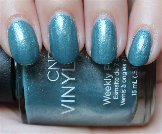 CND Vinylux Daring Escape Swatch Day 6