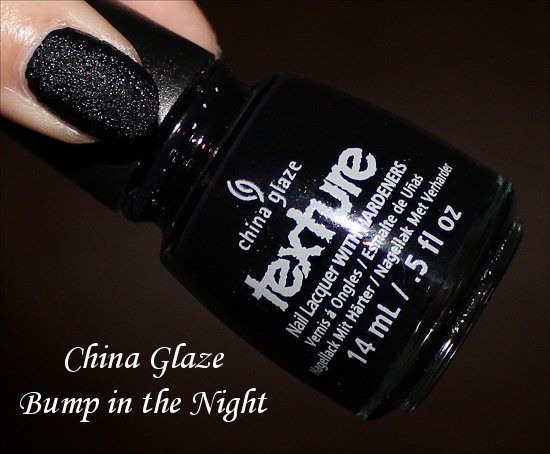 China Glaze Bump in the Night Swatch, Review & Pictures