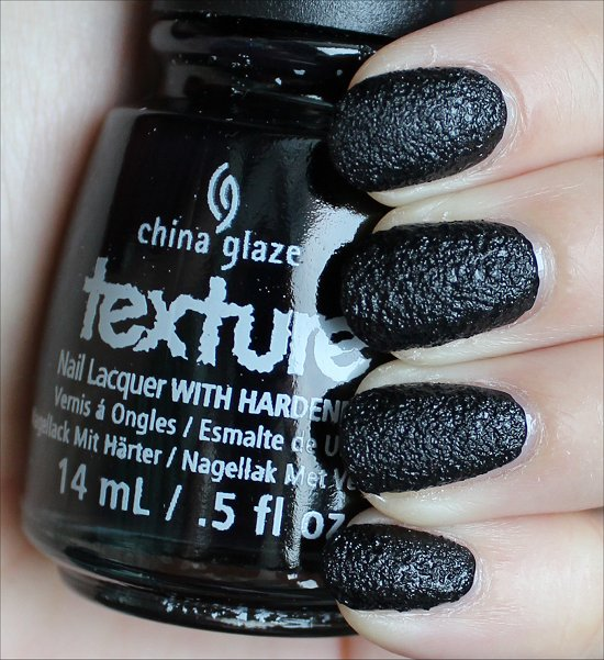 China Glaze Bump in the Night Swatches & Review