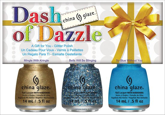 China Glaze Dash of Dazzle Set China Glaze Happy HoliGlaze Collection