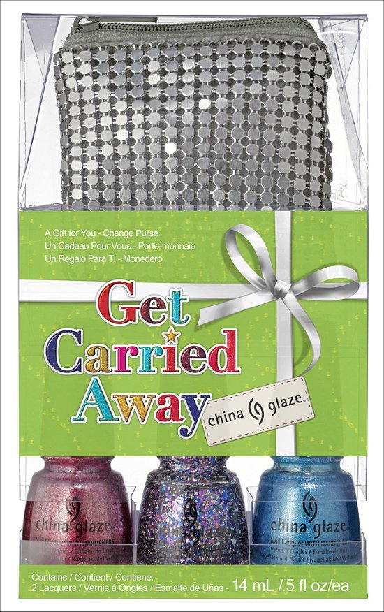 China Glaze Get Carried Away Set China Glaze Happy HoliGlaze Collection