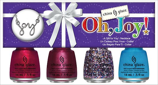 China Glaze Oh, Joy Set China Glaze Happy HoliGlaze Collection
