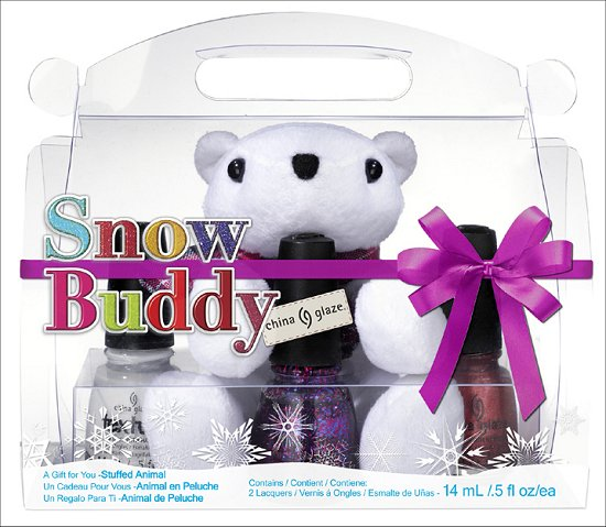 China Glaze Snow Buddy Set China Glaze Happy HoliGlaze Collection