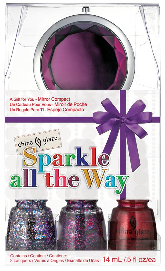 China Glaze Sparkle All the Way Set China Glaze Happy HoliGlaze Collection