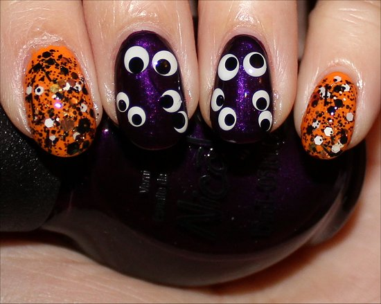 Easy Hallowe'en Nails Nail Art Manicure