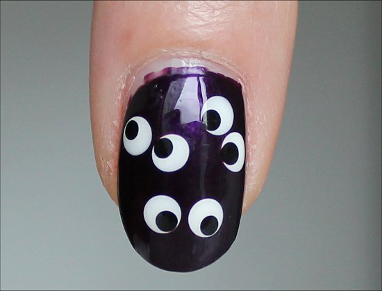 Halloween Eyeball Manicure